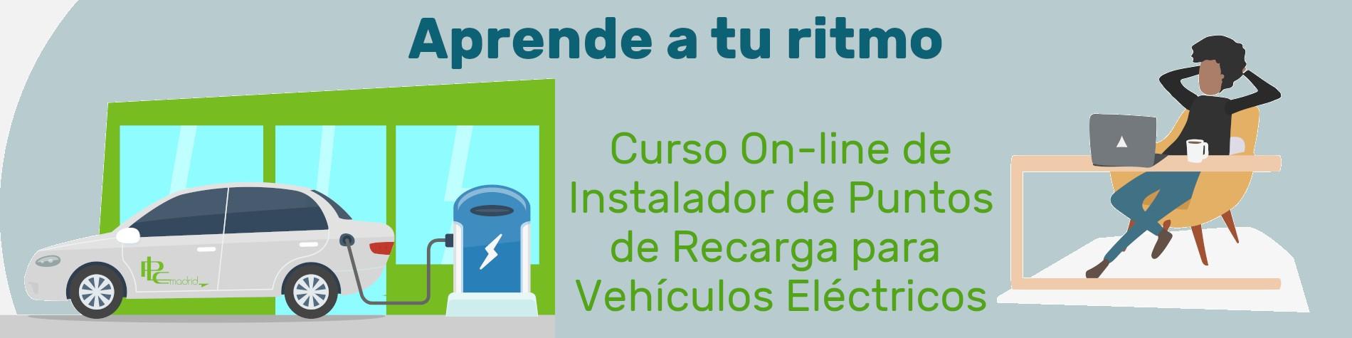 Curso instalador puntos de recarga para vehículo eléctrico